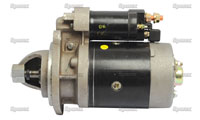 New Starter Motor For Oliver Tractors With 3 Cylinder Engines: 1255, 1265, 1270, White: 2-50. Replaces Oliver PN#:30-3043509.