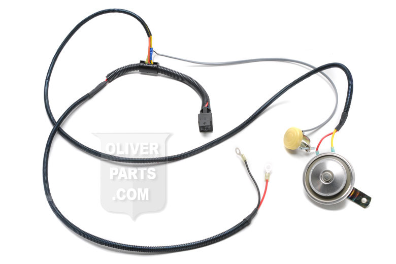 Horn Kit - 12 Volt With Wire Harness -- Oliver Parts for Tractors Oliver Wiring Harness on deisel oliver wiring, oliver alternator wiring-diagram, oliver wiring harness,