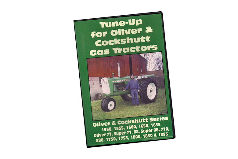 Tune-Up For Oliver & Cockshutt  Gas Tractors Dvd