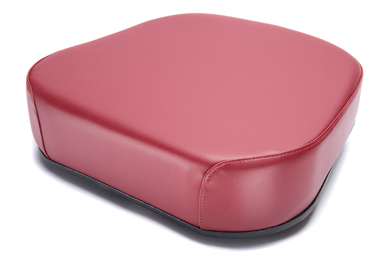Vinyl Seat Bottom On Steel ( Claret Is The Color)