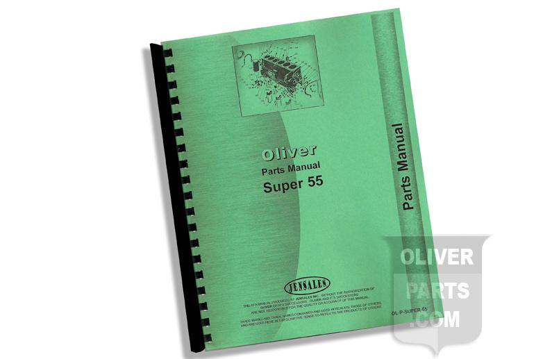 Parts Manual - Oliver Super 55