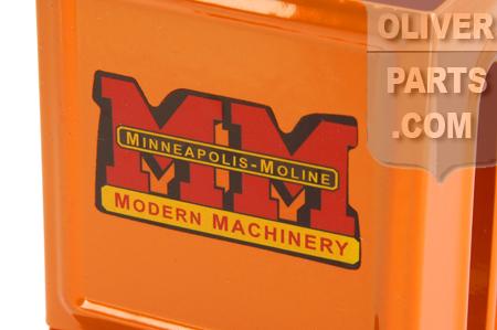 Minneapolis-Moline Matchbox Holder