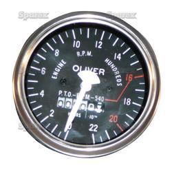 Tractormeter For Oliver: Super 55, Super 66 Row Crop, Super 77 Row Crop,