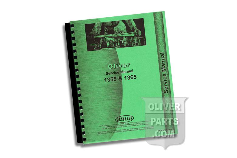 Service Manual - Oliver 1355 & 1365