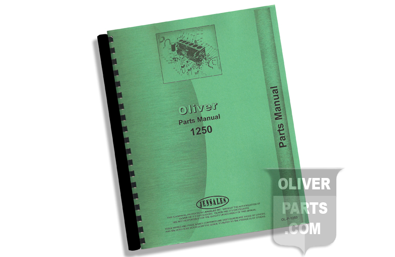 Parts Manual - Oliver 1250