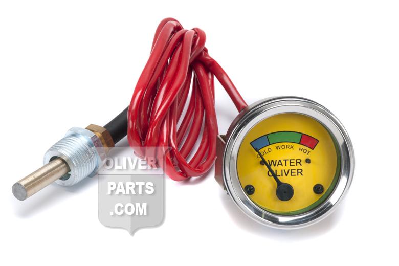 Water Temp Gauge - Oliver Super 44, Super 55, 66, Super 66, 77, Super 77, 88, Super 88, 440, 660