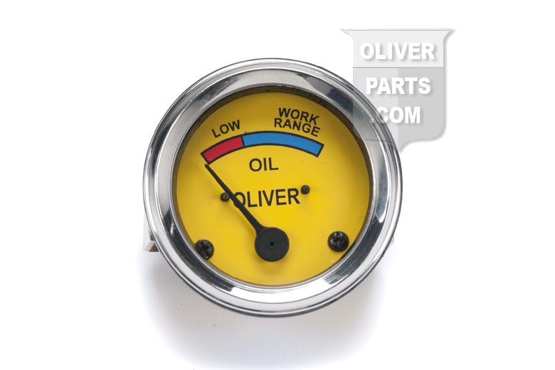 Oil Pressure Gauge - Mechanical type - Oliver Super 44, Super 55, 66, Super 66, 77, Super 77, 88, Super 88, 440, 660