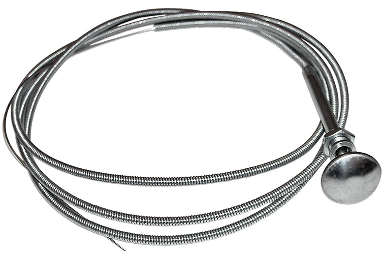 Universal Choke Cable to fit all Oliver models. Other Info: Metal shethed Dimensions: Length = 72\  Cut to length Universal Choke Cable Can also be used as a \'STOP\ cable for diesel engines. Fits: Tractors, forklifts, and other applications using 72\ or less cable