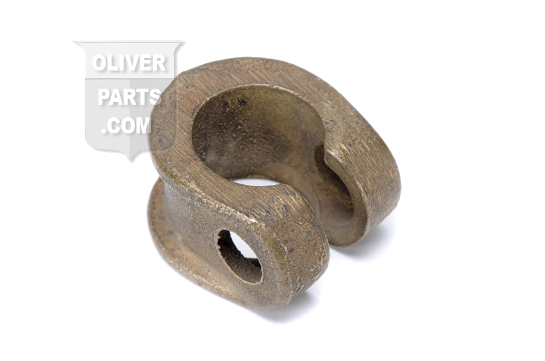 This is the tie rod clamp that is located on the end of the intermediate tie rod.