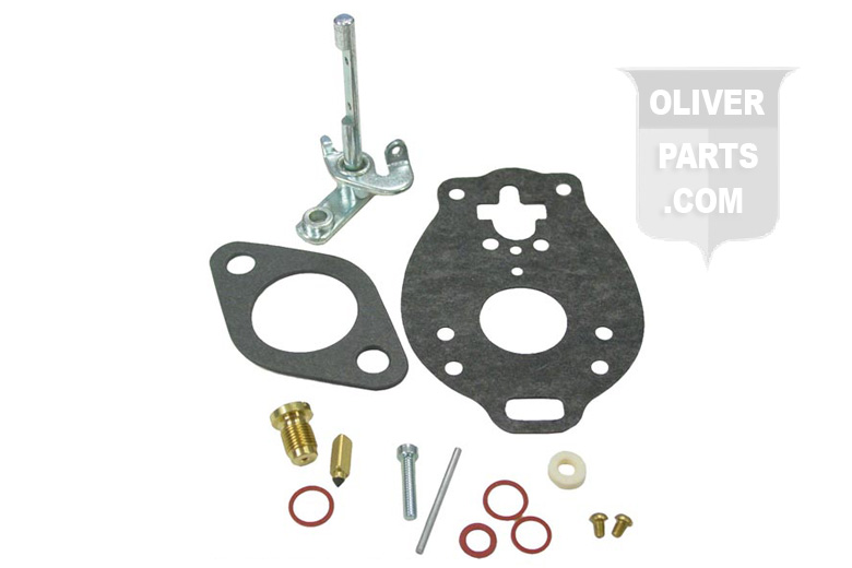 Basic Carburetor Repair Kit.  Fits Oliver: 60 With TSX49 and TSX120.