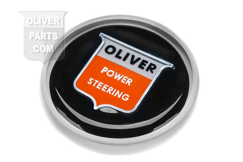 Steering wheel cap. Plastic cap, black face. Tractors: Oliver: 550, 660, 770, 880, 950, 990, 995, 1550, 1600, 1650, 1750, 1800, 1850, 1900, 1950, 2050, 2150