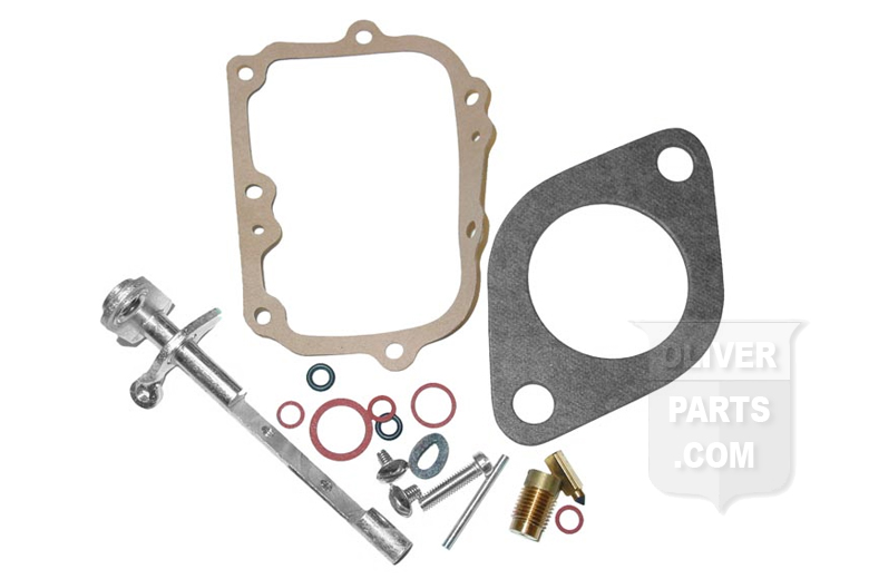 Basic Carburetor Repair Kit For Marvel Schebler Carburetors. Fits Oliver 66, Super 66, 77, Super 77, and 660. With Marvel Schebler Carburetor Numbers TSX363 and TSX418.