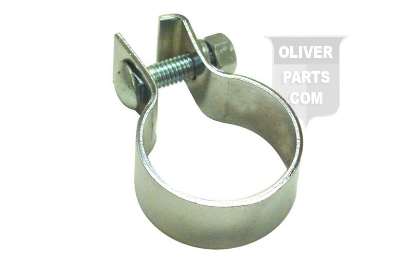 Original Style 2\ Chrome Muffler Clamp.