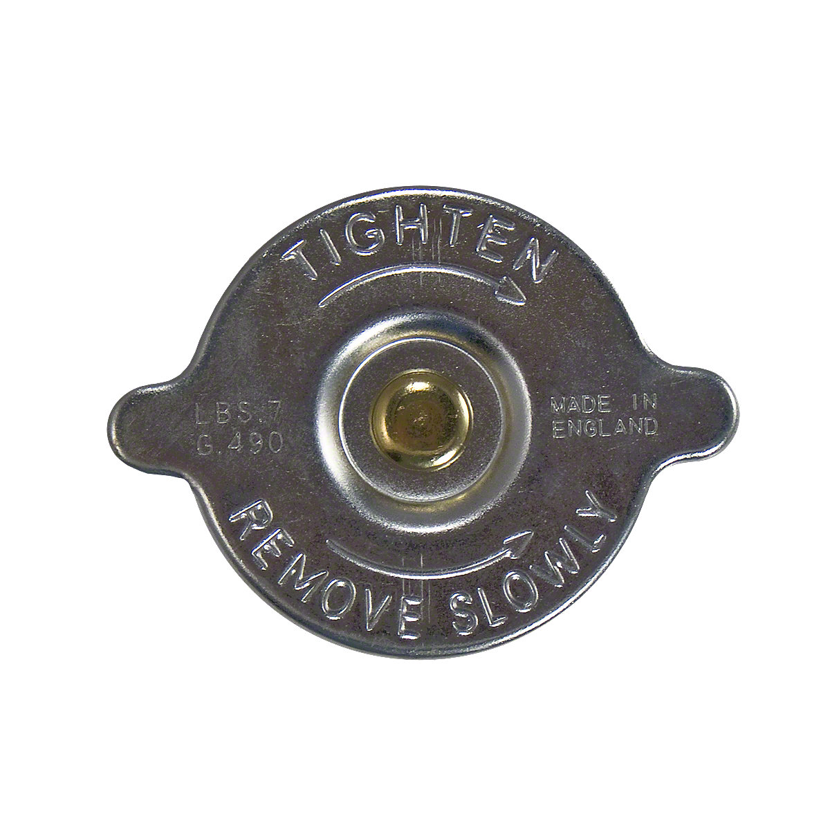 Radiator Cap With Gasket Fits Oliver: 770, 880, 1550, 1600, 1650, 1750, 1755, 1800, 1850, 1855, 1950, 1955, White: 2-50, 2-60, 2-70, 2-85, 2-105, 2-110, 2-150, 4-150, and 4-180.
