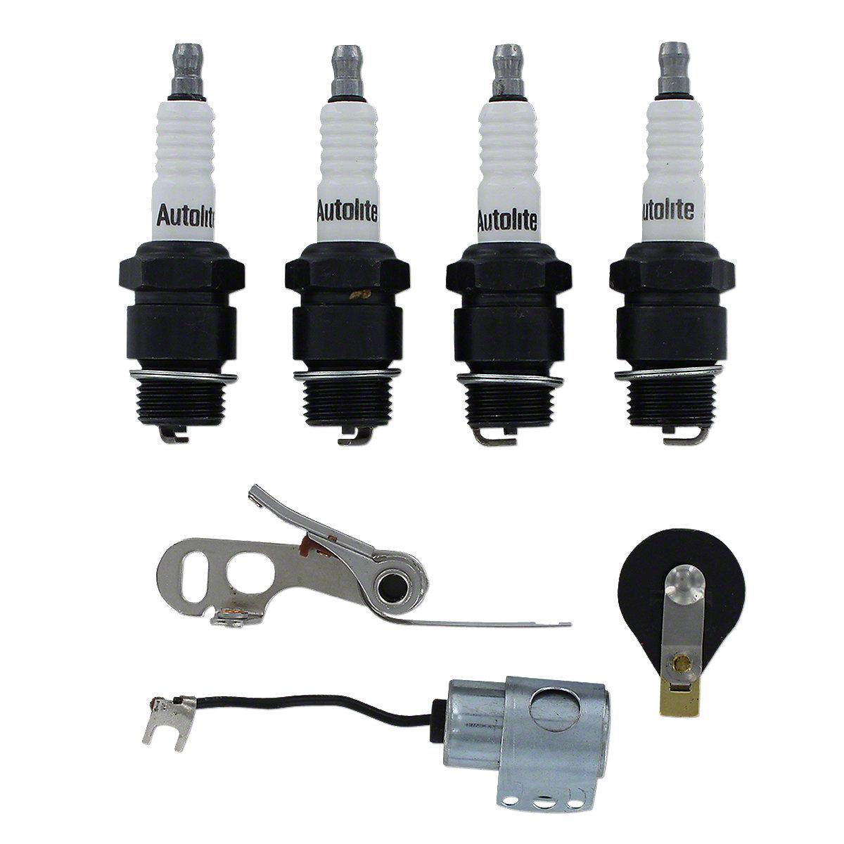 Includes: Points, Condenser, Rotor, Autolite Plugs  Fits Oliver:  60 66 660 Super 44 Super 55 Super 66 440 550