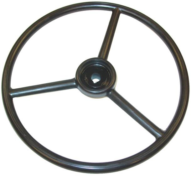 Brand new steering wheel for late model Oliver 60 and 66. Get yours replaced today!