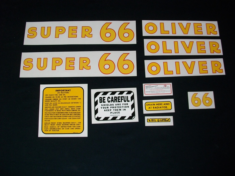 Fits: Super 66 Decals cannot be returned except under special circumstances (i.e. wrong decal shipped). Please see our standard return policy for more information.