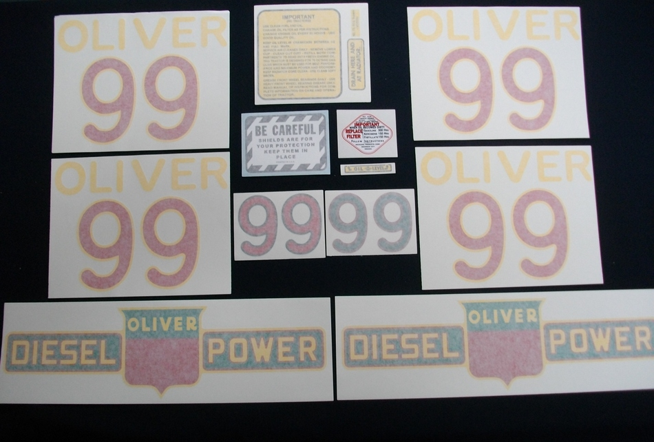 99 Diesel (Vinyl Decal Set)