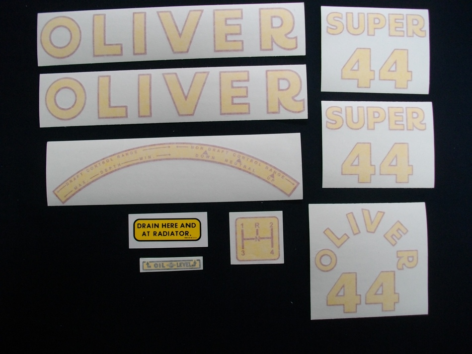 Super 44 (Vinyl Decal Set)