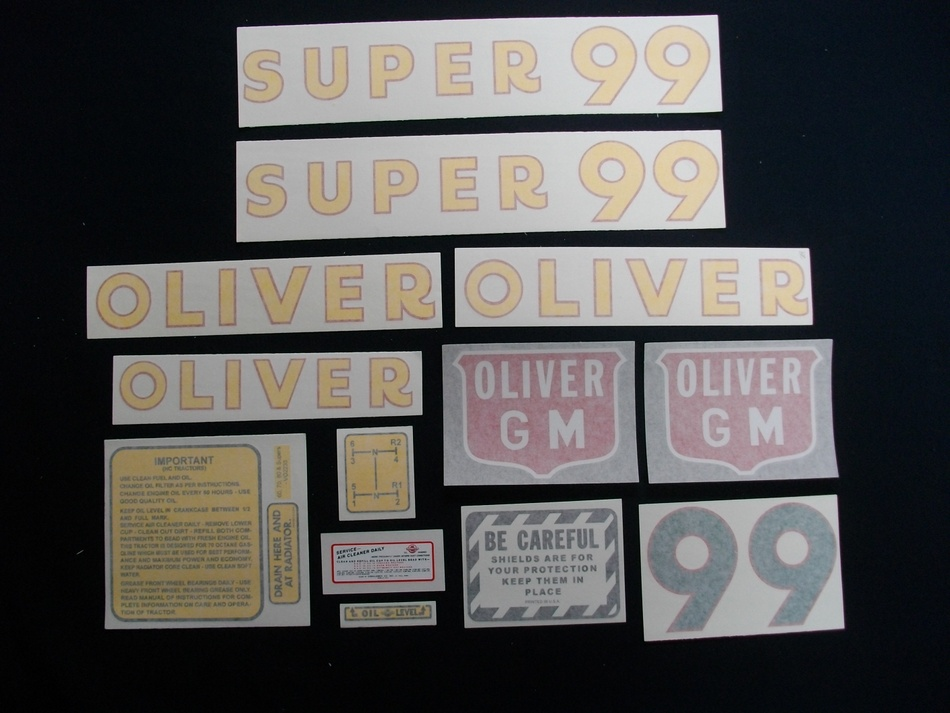 Super 99 GM (Vinyl Decal Set)