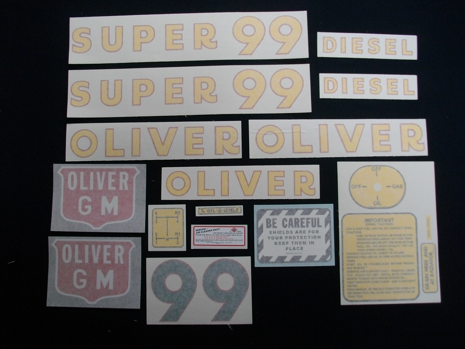 Super 99 GM Diesel (Vinyl Decal Set)