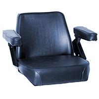 Seat Assembly Black vinyl on Steel
