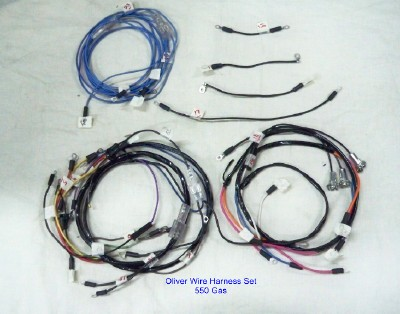 Wiring Harness For Oliver 550 Gas -- Oliver Parts for Tractors on deisel oliver wiring, oliver alternator wiring-diagram, oliver wiring harness,