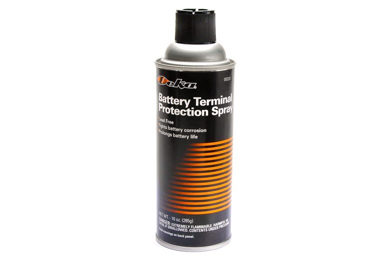 Spray Terminal Protector For Your Battery.