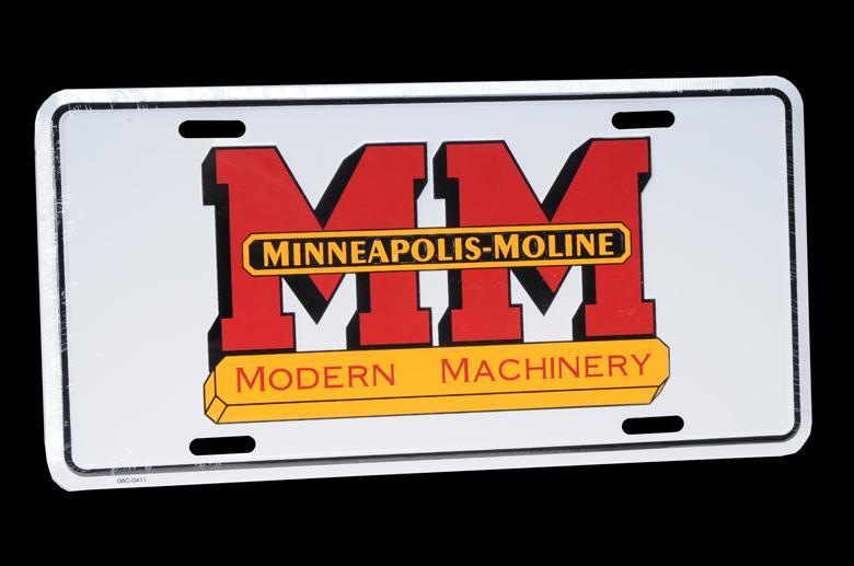 Minneapolis-Moline License Plate