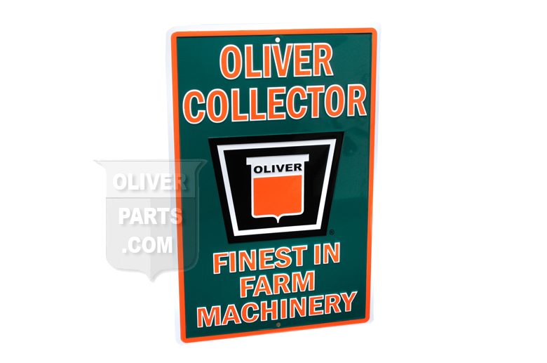 Oliver Collector Sign