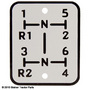 New Shift Pattern Plate for an Oliver 550