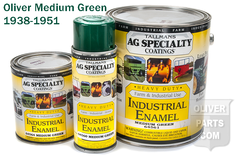 Oliver Tractor Paint - Oliver Medium Green (1938-1951)