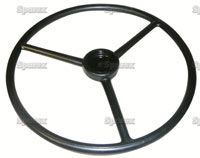 Steering Wheel 18 inch in Diameter, 36 Spline11/16 Shaft Diameter For Oliver 55, Super 55, 550 up to SN#:110012, 1600. Replaces Oliver PN#:1E767.