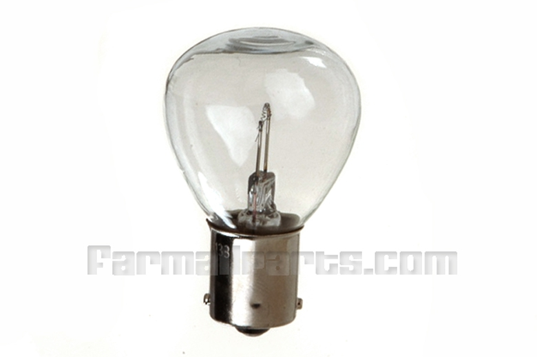 6 volt light bulb for Oliver tractors 60, 66, 77, 88, super 44, super 55 with 6 volt systems. Head or Rear lamp bulb 8 volt , 32 Candle power
